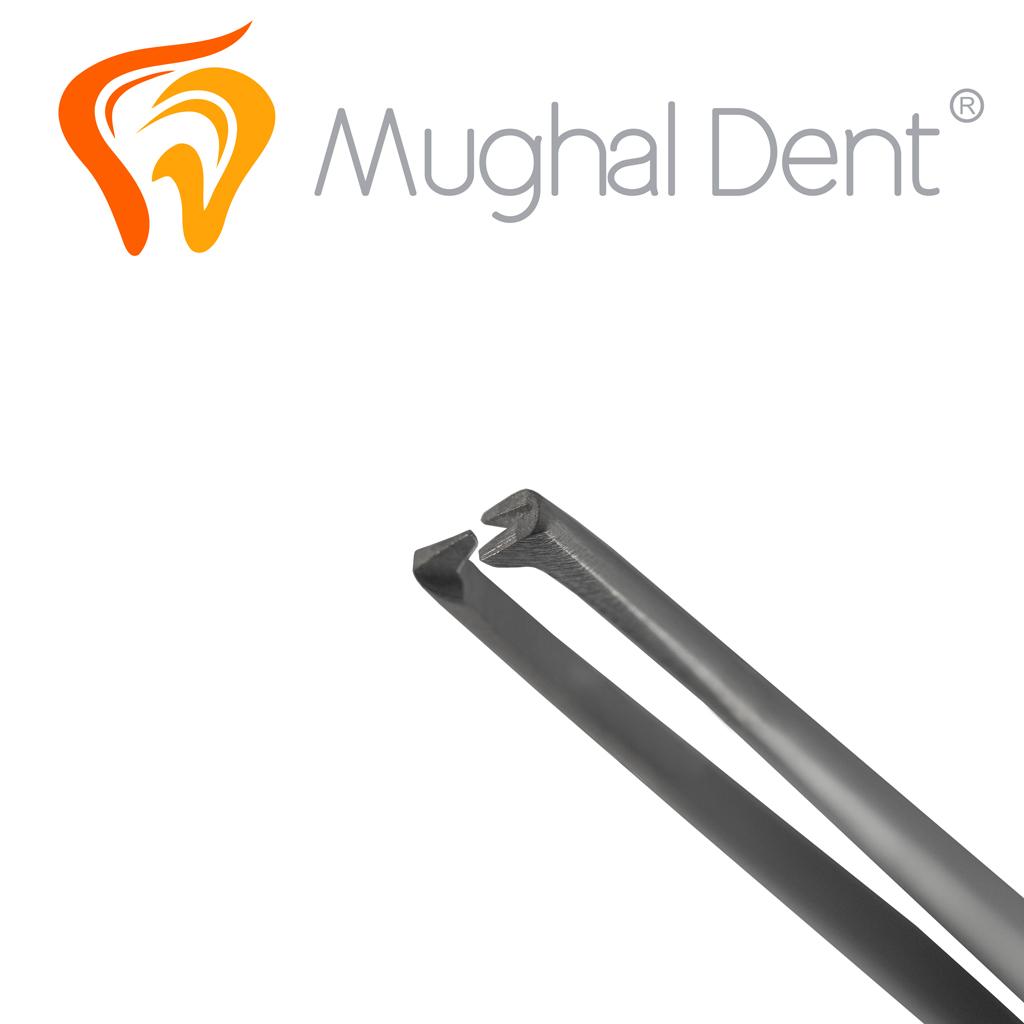 Pinza Quirurgica 14cm 1x2 dientes Detalle