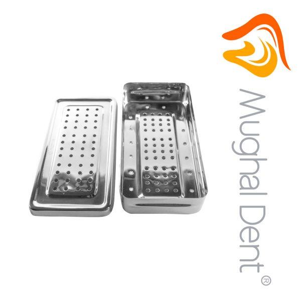 Caja Para Esterilizar 20 x 10 x 4cms - Perforada
