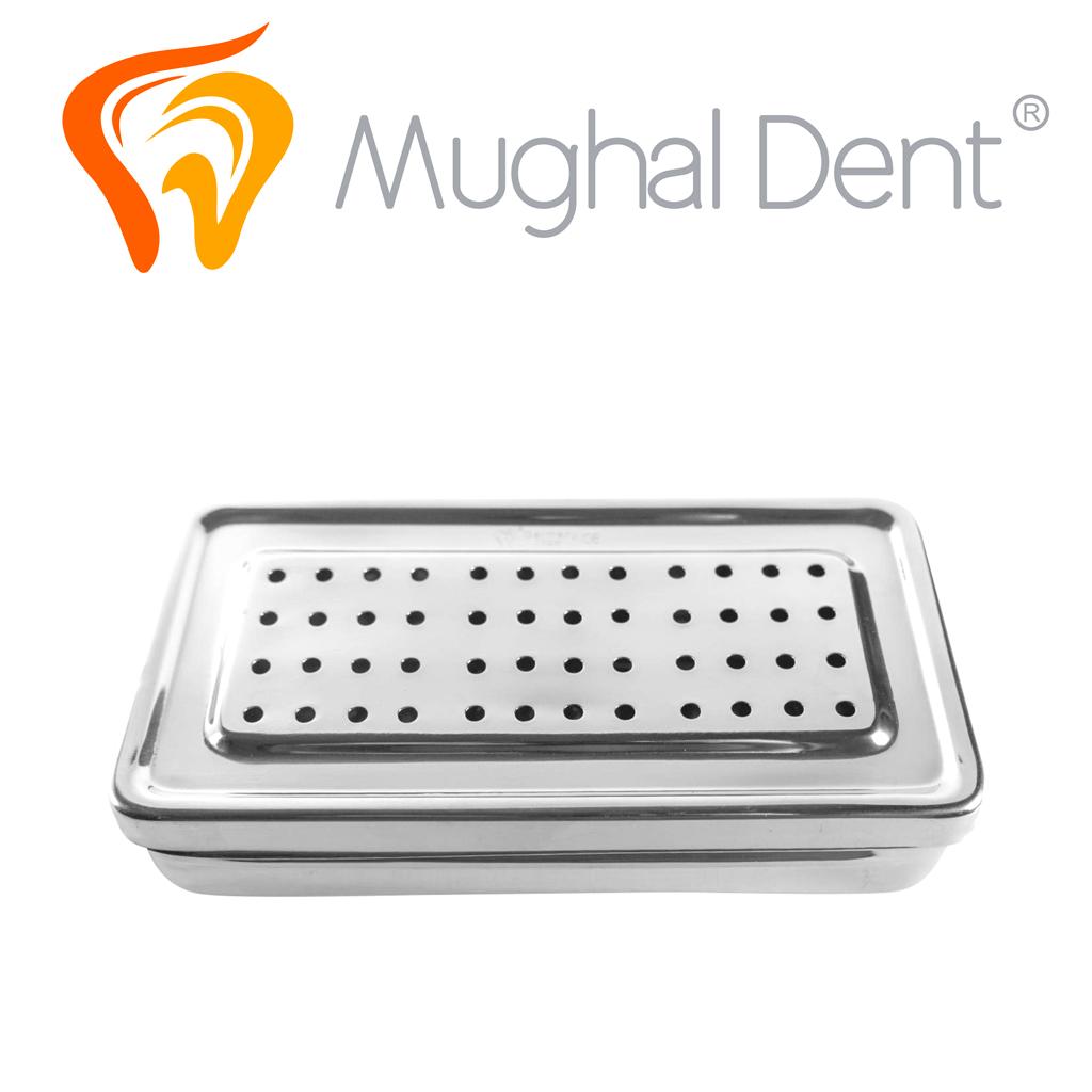 Caja Para Esterilizar 20 x 10 x 4cms - Perforada Detalle